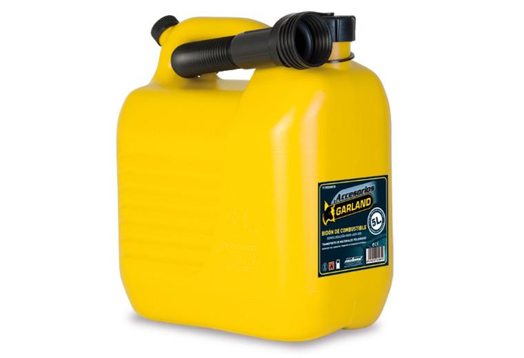 Bidón homologado para combustible