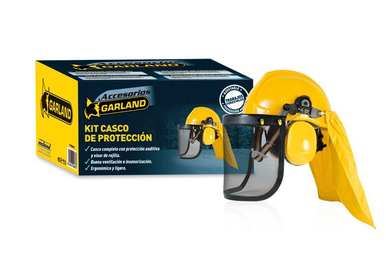 Kit casco de protección