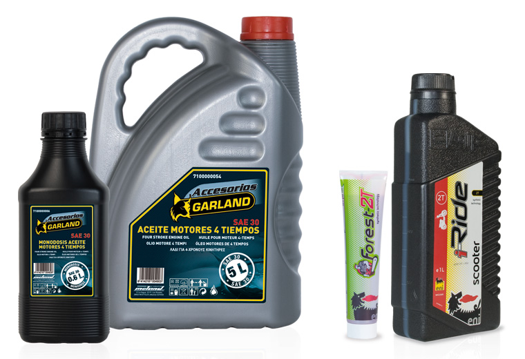 Aceite lubricante de motores 4 tiempos y 2 tiempos